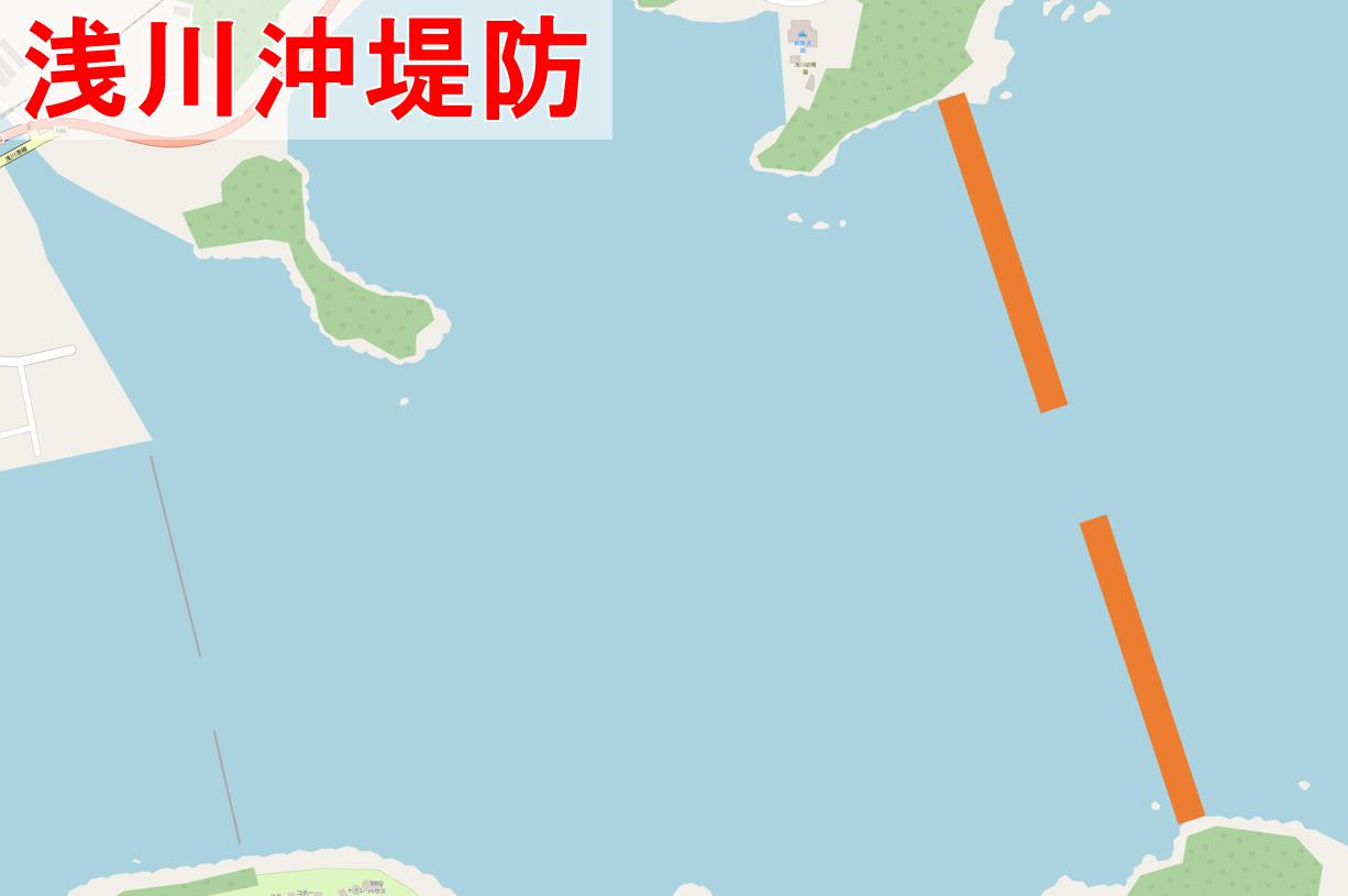 浅川沖堤防