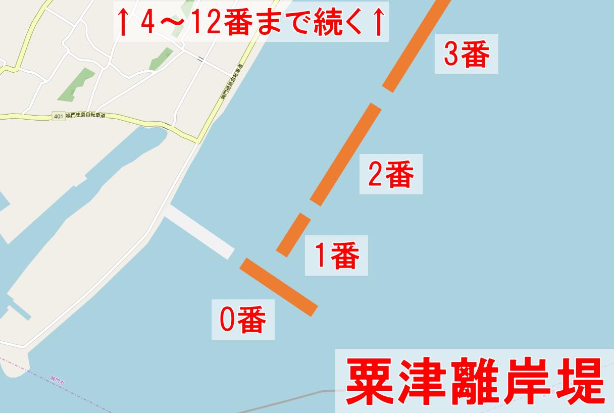粟津離岸堤